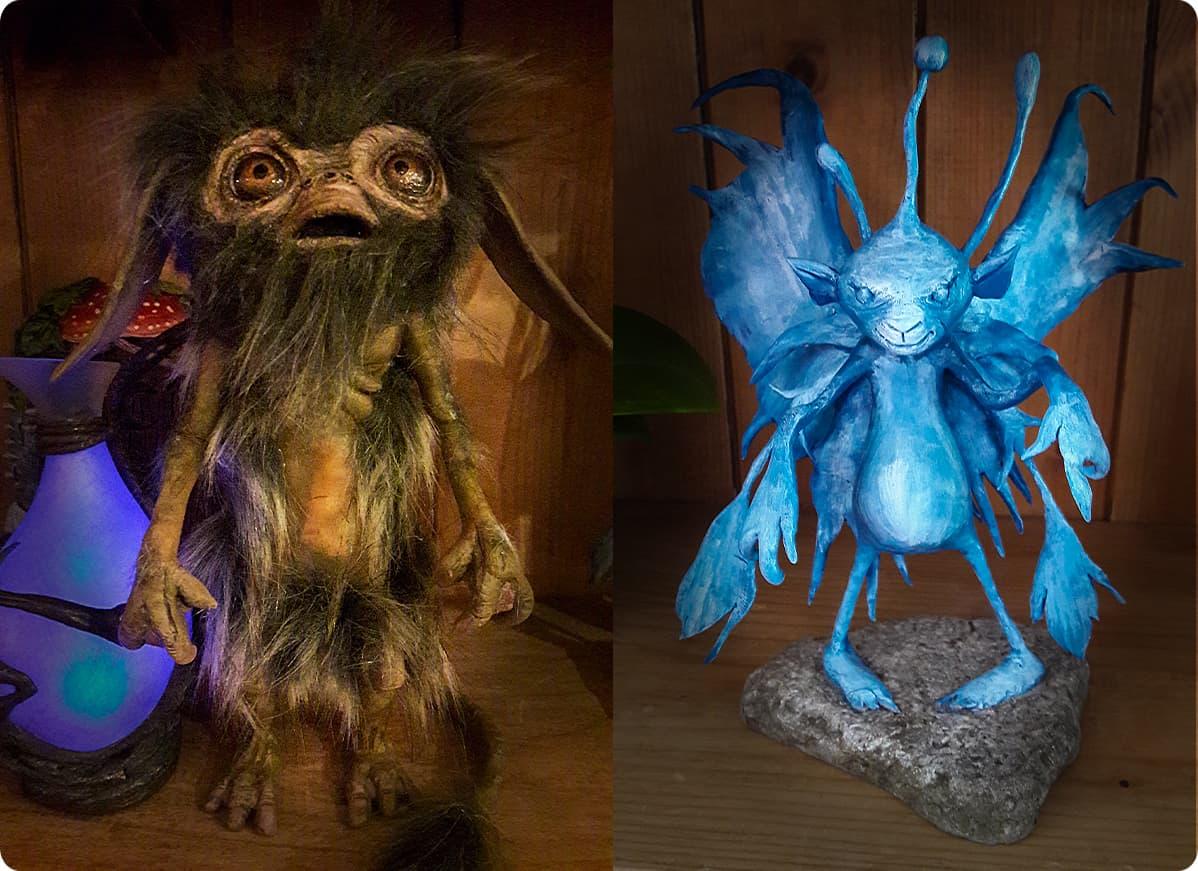 Jim Crawley's Dark Crystal inspired work