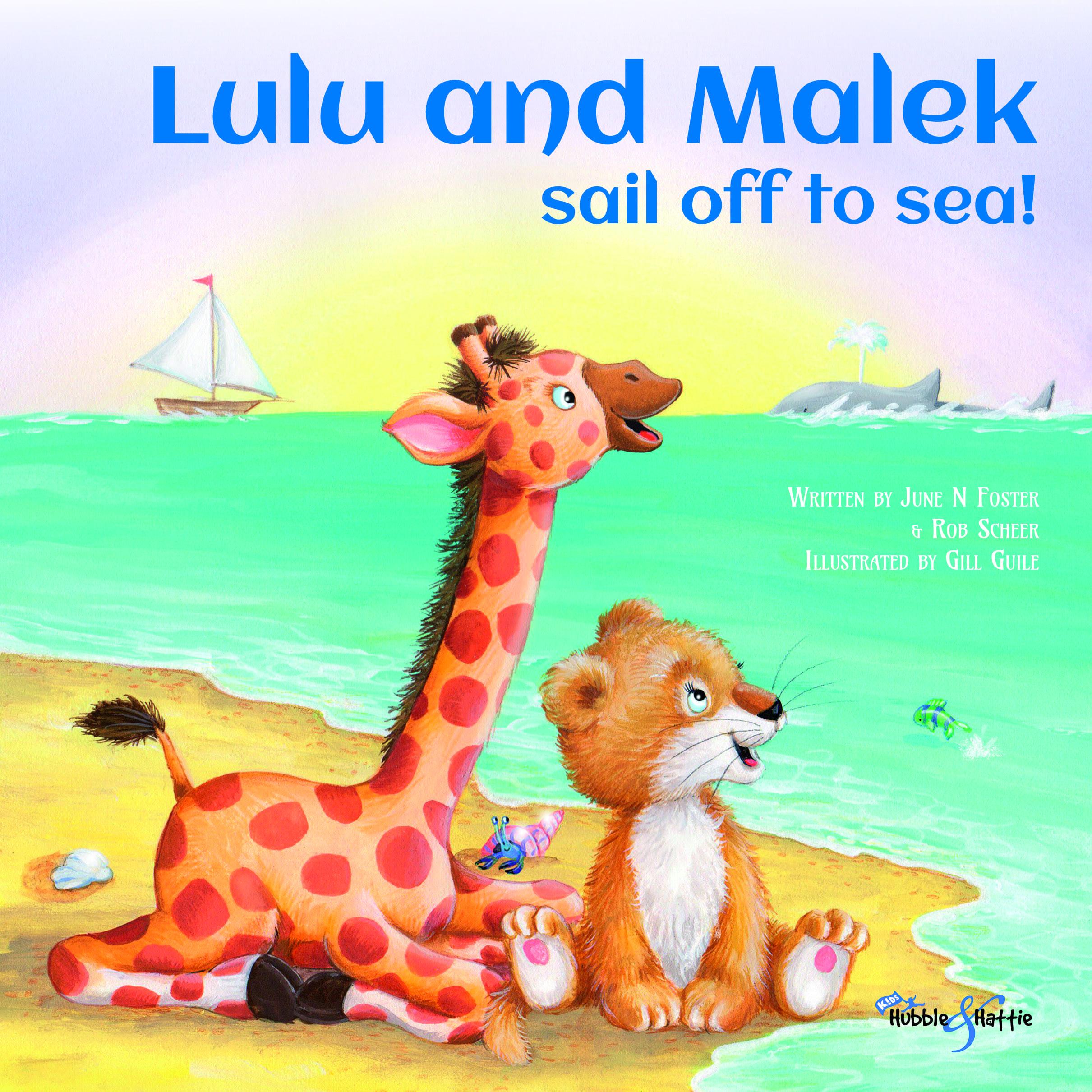 Lulu and Malek sail off to sea!