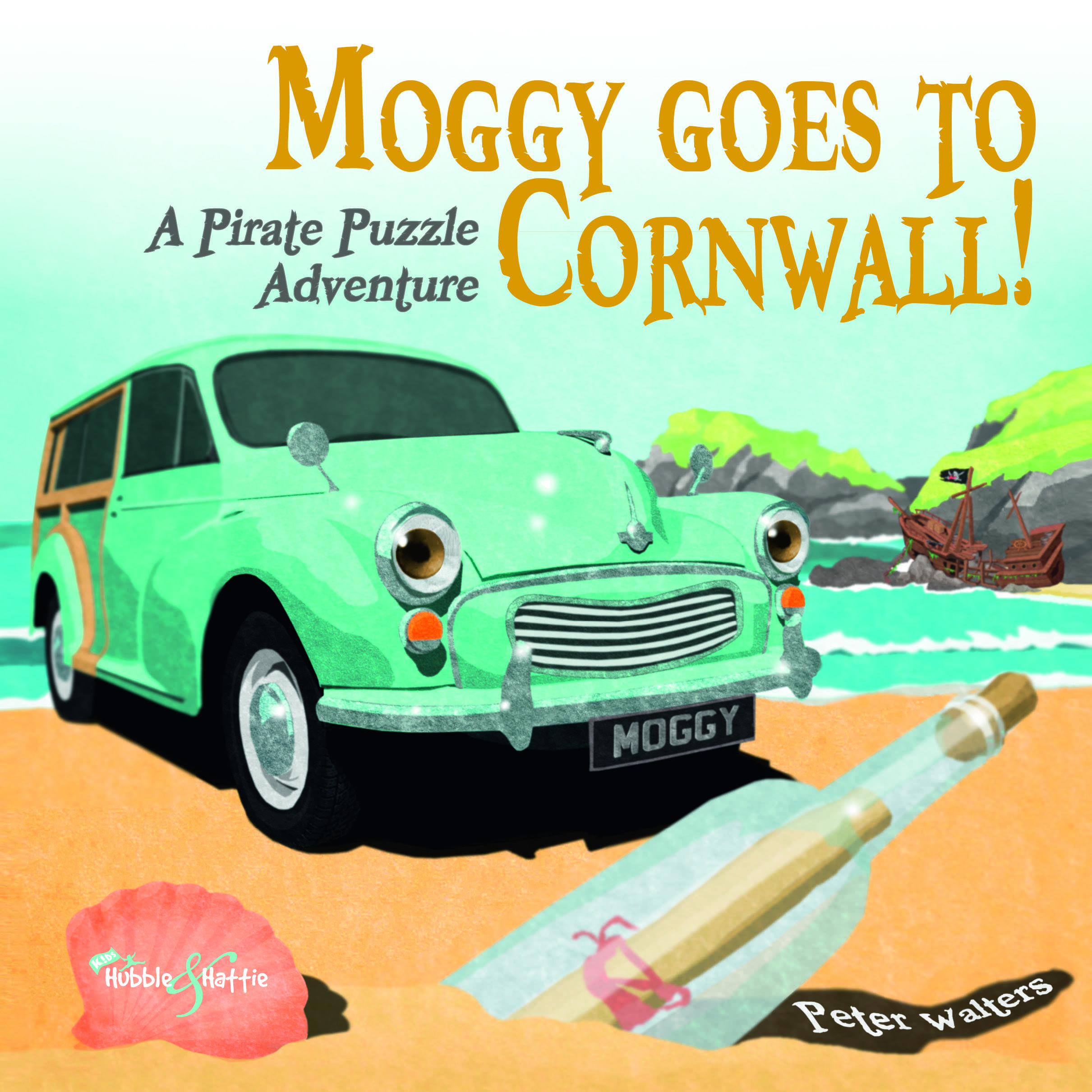 Moggy goes to Cornwall – A  Pirate Puzzle Adventure