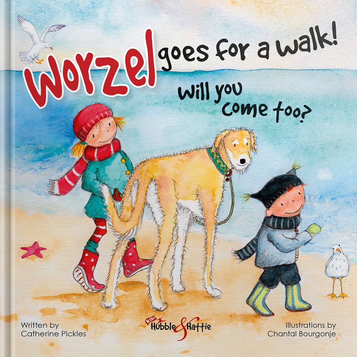 Worzel goes for a walk! Will you come too?