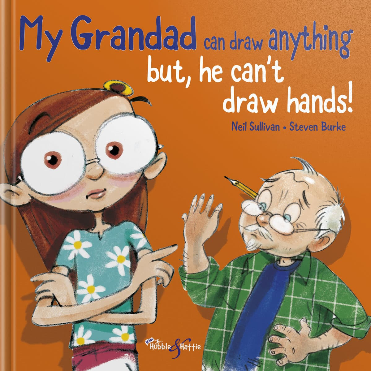 My Grandad can draw anything – BUT he can't draw hands!
