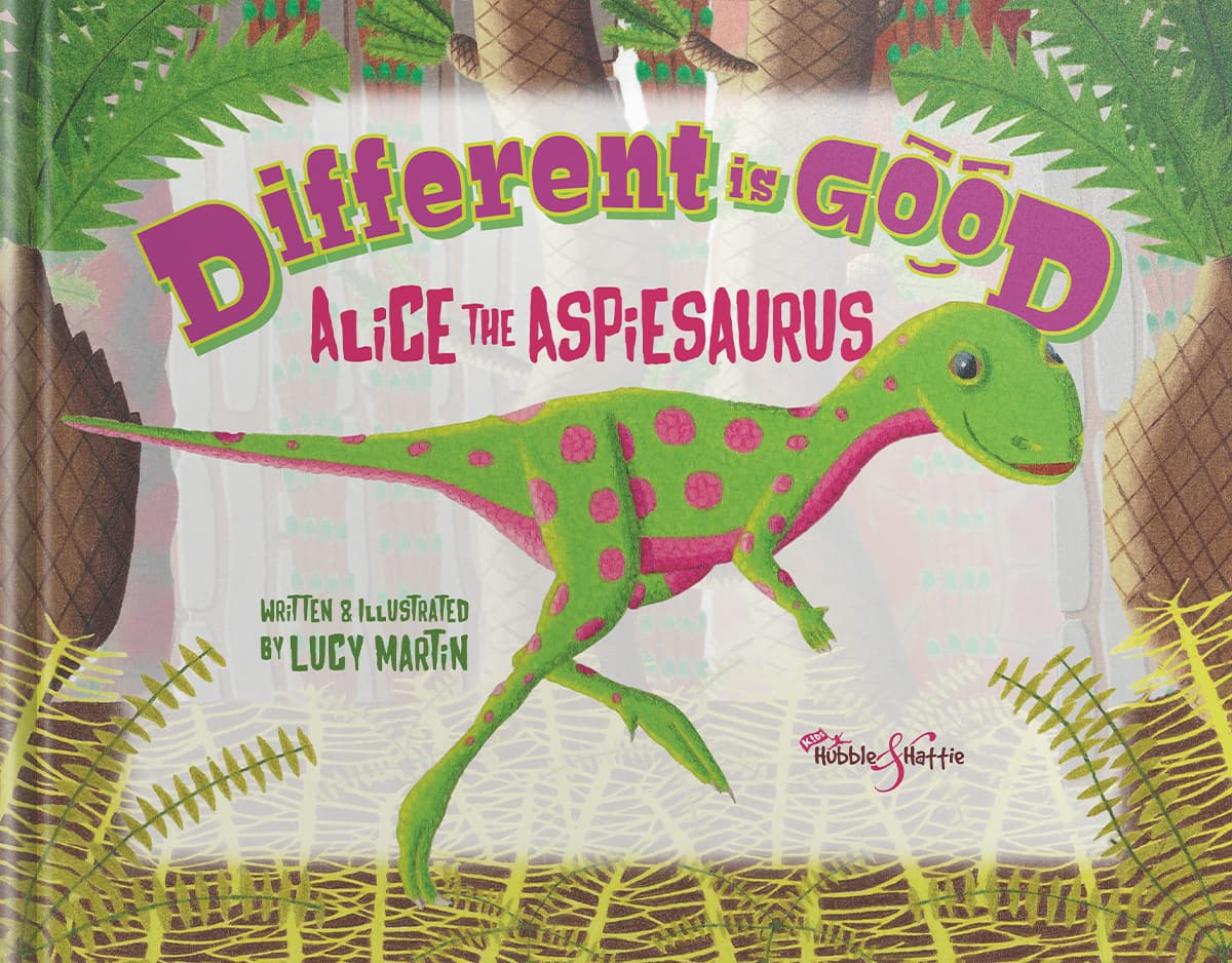 Different is good. Alice the Aspiesaurus