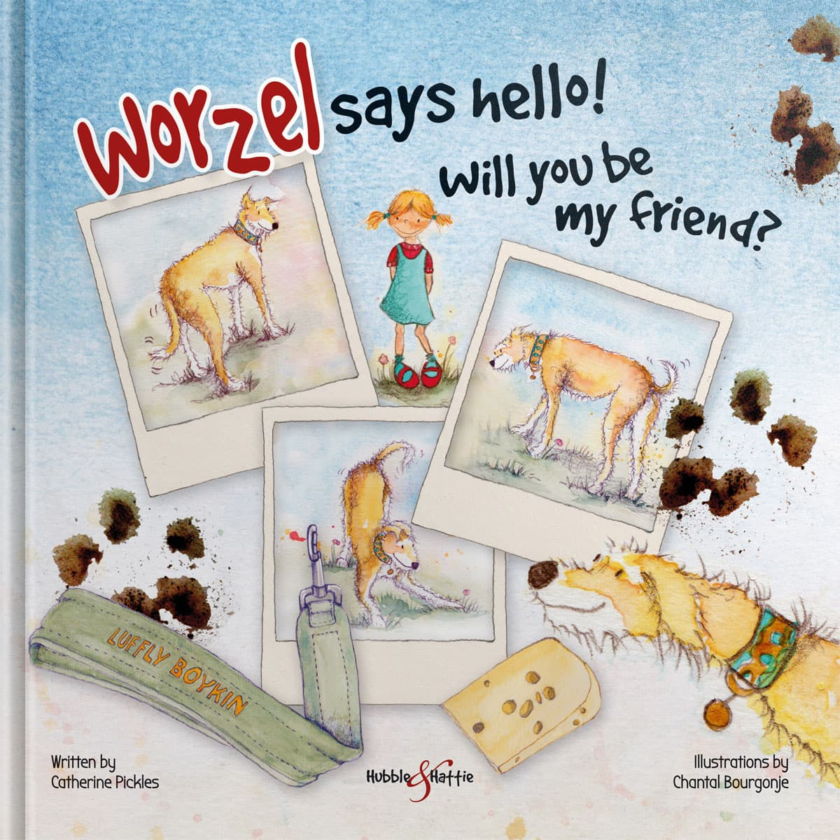 Worzel says hello! – Will you be my friend?