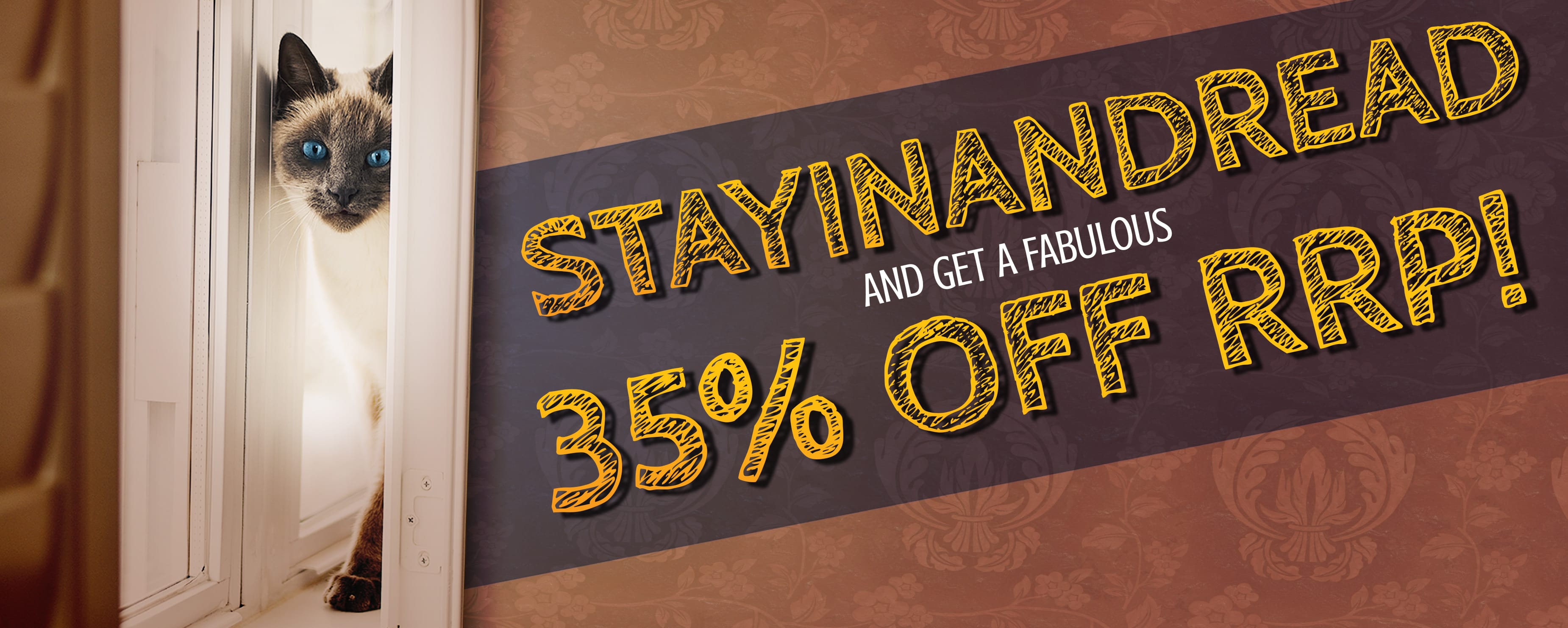 STAYINANDREAD with 35% off