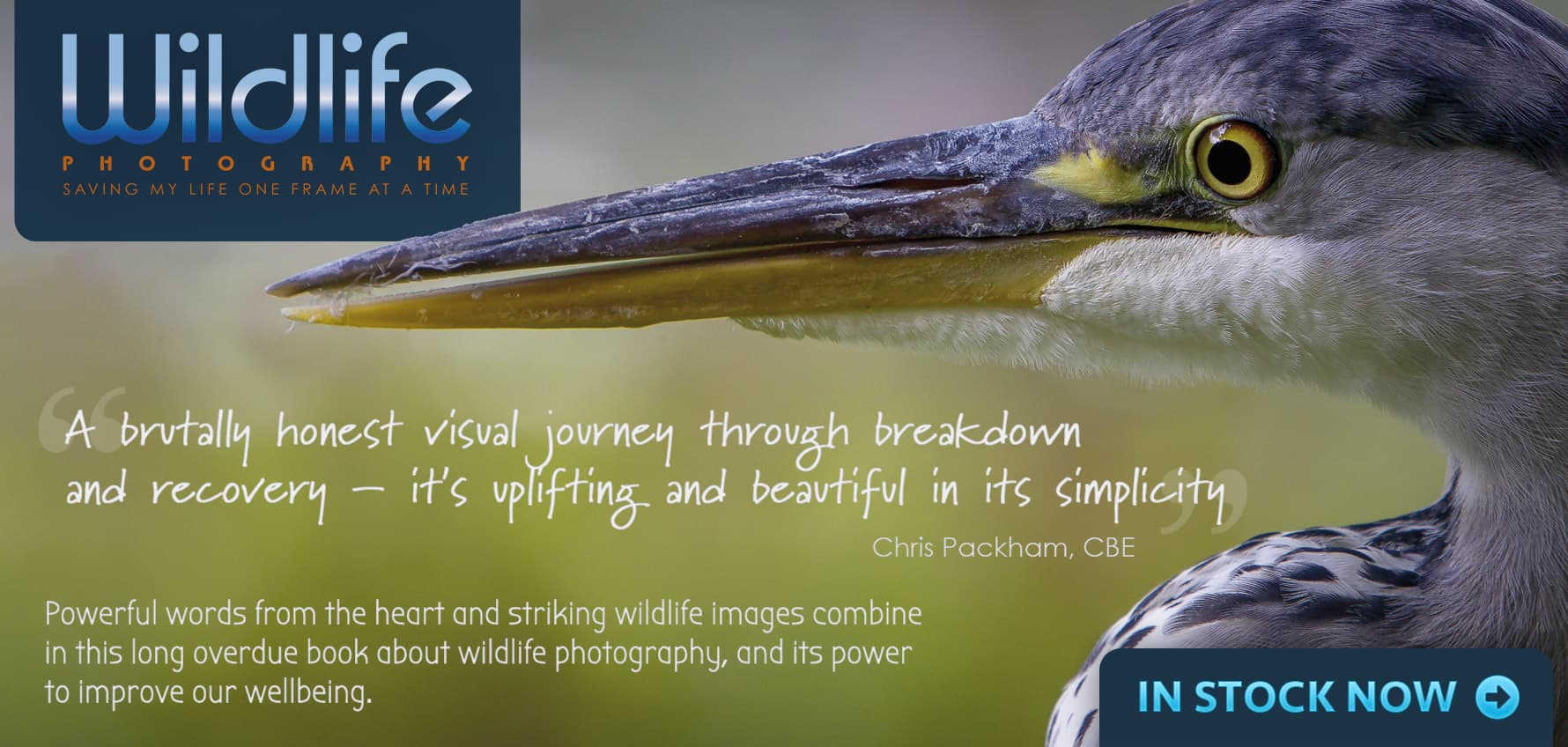 Powerful words from the heart and striking wildlife images – photography for total wellbeing