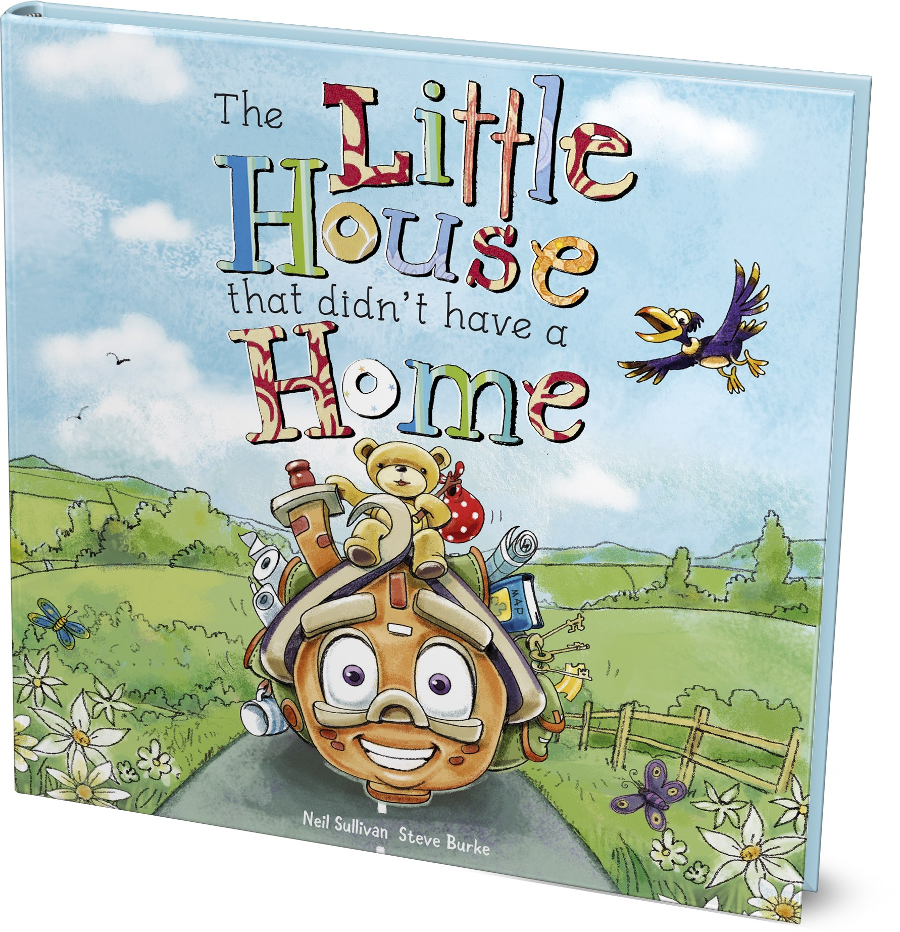 Come along  on this fun-packed adventure to find out if the Little house (and Little Bear) find their very own home!