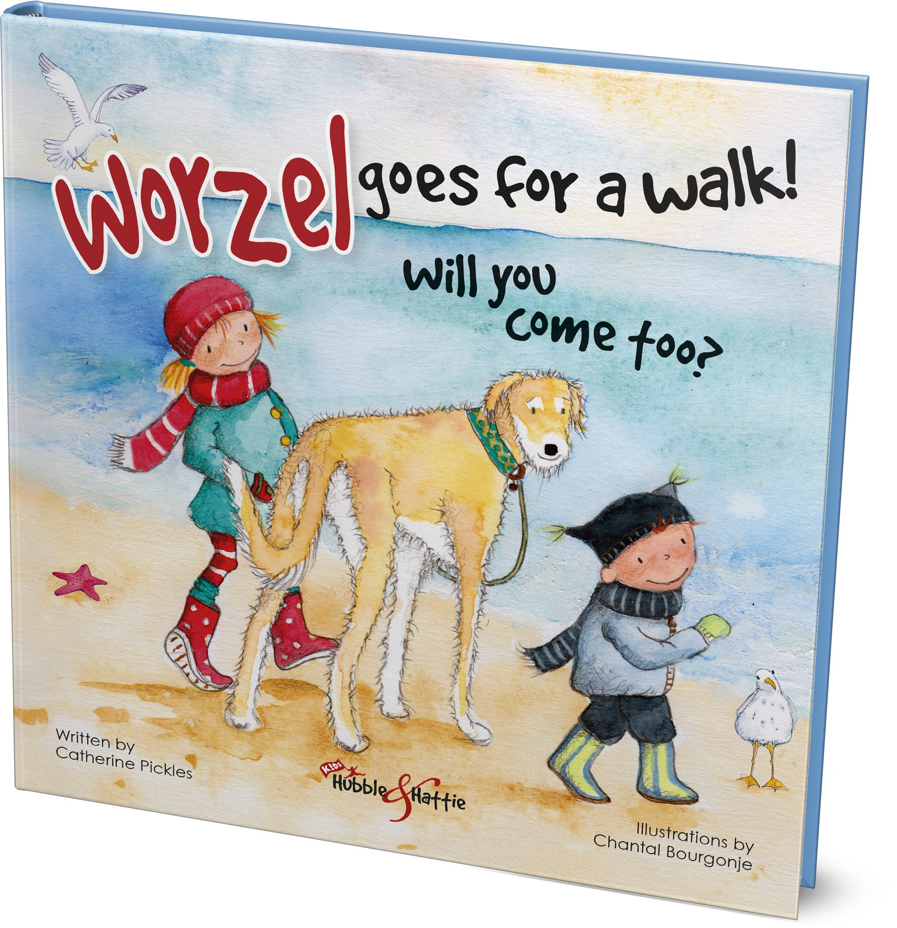 Have lovely walks with your dog! In Worzel Goes For a Walk, children learn there are important rules that need to be followed to ensure that walking the dog is a positive experience for everyone.