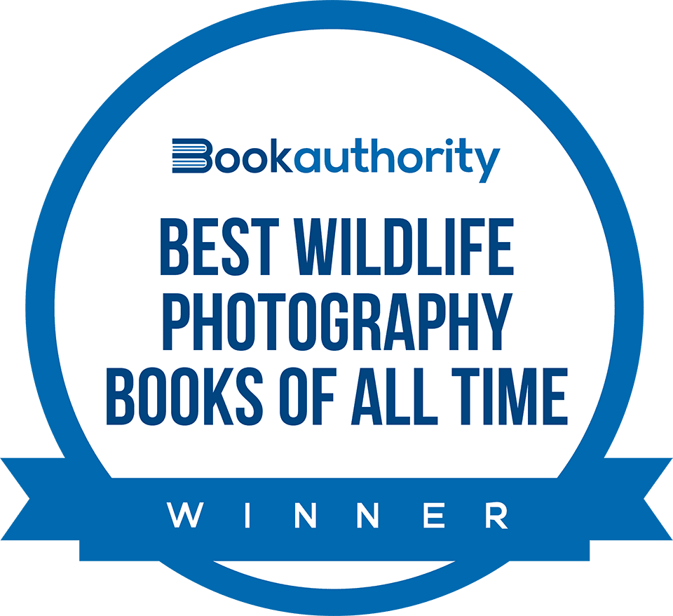Book Authority –Winner in the Best Wildlife Photography Books of All Time